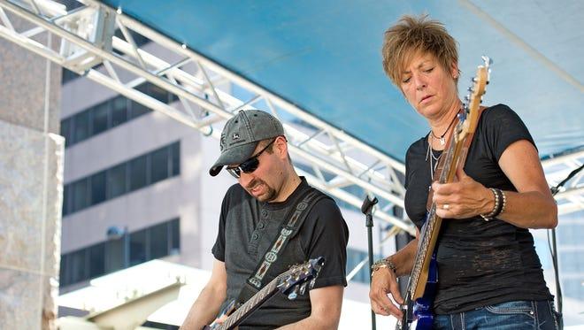 Jamison Road performs at last year's Taste of Cincinnati.