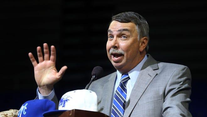 The Groundhog Day Luncheon will help MTSU baseball coach Jim McGuire and his team start the 2016 baseball season.