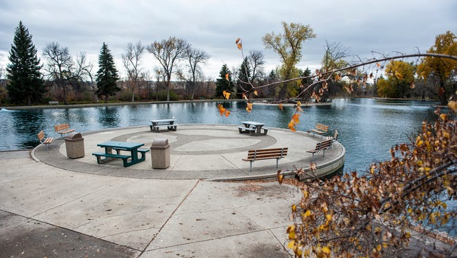 The mayor would like to put an events center in Gibson Park where Park and Ponder once stood.