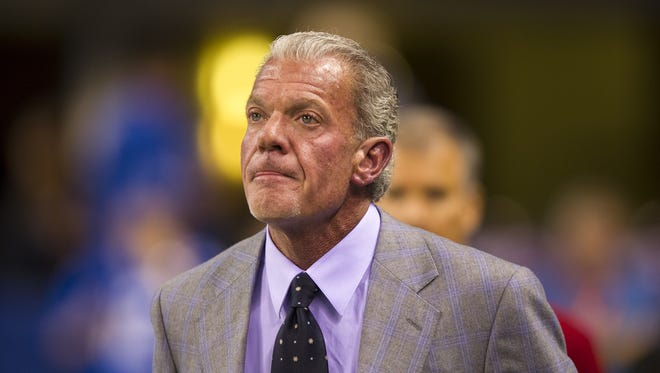 "Colt's owner Jim Irsay says it is ""absurd"" to tie football to suicides,"