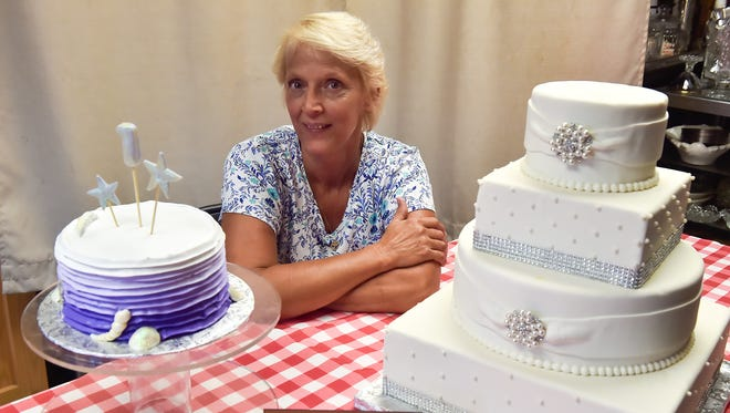 Joanne Formosa, owner of A Matter of Taste Cakes and Catering, photographed on Thursday, June 23, 2016.