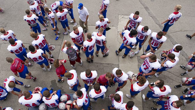 FILE – Roncalli once again figures to be in the mix in Class 3A.