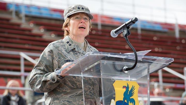 Major General Carol Timmons retires as head of Delaware National Guard