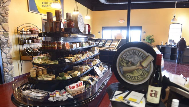 Local and international cheese and meat products with wine and craft beers awaits visitors inside the Cave Market.
