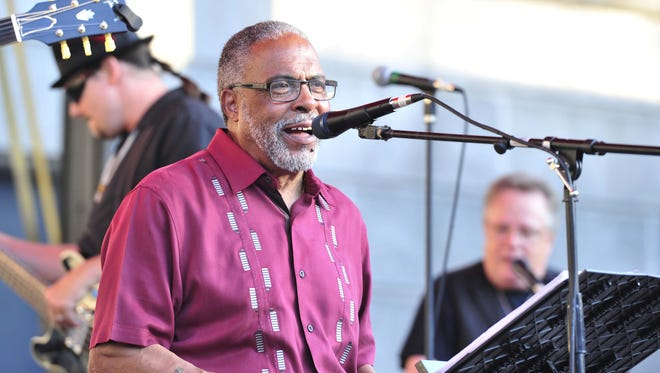 The Nick Nixon band performs during a previous Jefferson Street Jazz & Blues Festival. Nixon died earlier this year at 76.