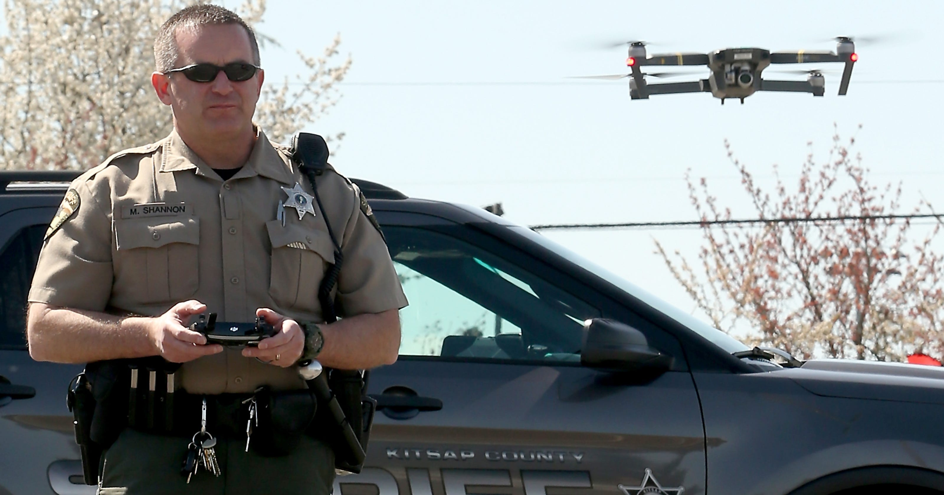 Kitsap County Sheriff's Office deploys drones