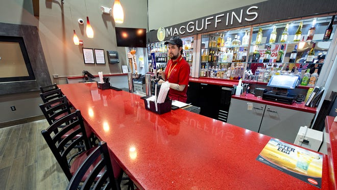 The new AMC Stones River 9 opens Friday, June 22 in Murfreesboro. The new theater will feature MacGuffins, an adult beverage concept, shortly after opening.