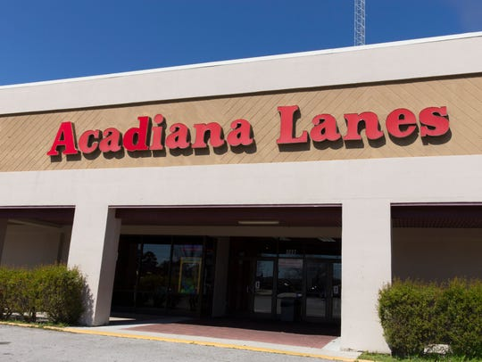 The facade of Acadiana Lanes Feb, 25, 2016.