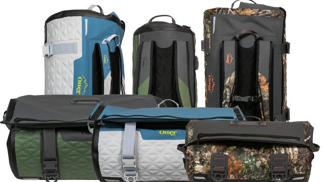 The latest in the outdoor gear line from OtterBox, Yampa Dry Duffle is available in three sizes: 35-liter, 70-liter and 105-liter, and protects gear from water, sand, dirt and drops. (PRNewsfoto/OtterBox)