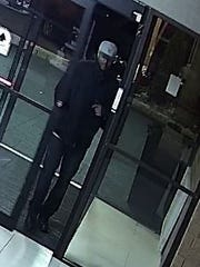 The city of Brookfield Police has released surveillance of a suspect in an armed robbery at Best Western Hotel, 1005 S. Moorland Rd.on Oct. 31.