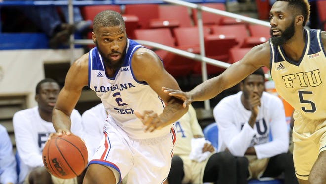 Louisiana Tech forward Erik McCree scored 18 points to lead the Bulldogs past Southern Miss on Saturday at the Thomas Assembly Center.