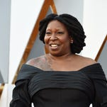 Whoopi Goldberg at the Oscars on February 28, 2016 in Hollywood.