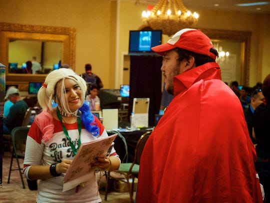 A game-related cosplay costume contest will be part of the festivities at the sixth annual Las Cruces Game Convention.