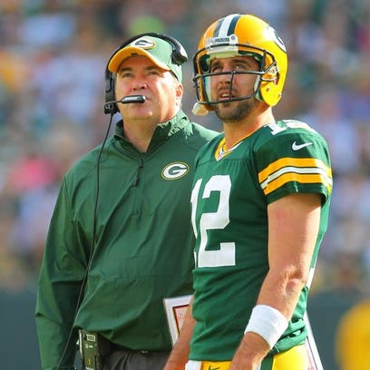 Coach Mike McCarthy has gone 'double agent' on the Green Bay Packers, quarterback Aaron Rodgers says.