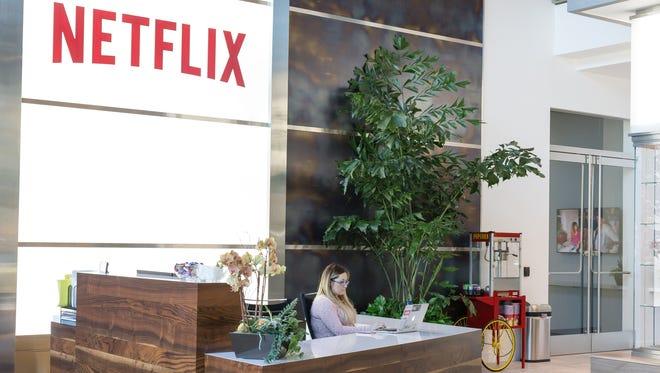 Inside Netflix's headquarters in Los Gatos, Calif.