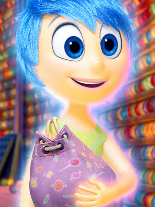 "Amy Poehler is the voice of Joy in Disney-Pixar's ""Inside Out."" (Photo courtesy Disney-Pixar/TNS)"