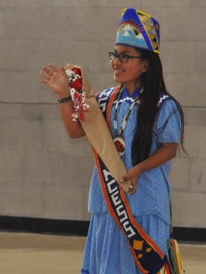 Ruidoso Middle School seventh grader Rose Enjady was named Indian Club Princess Thursday.