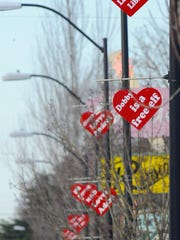 Friends of Old Town Stayton will once again host the Walk of Hearts this February.