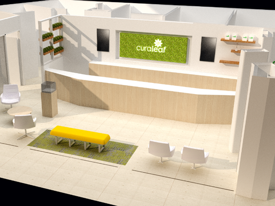 Curaleaf New York, a medical marijuana dispensary,