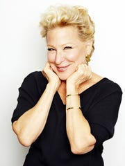 Bette Midler poses for a portrait in New York in 2014.