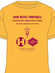 Sun Devil Stadium construction workers will wear this