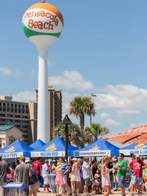 Taste of the Beach celebrates its tenth event Sept. 16 at the Gulfside Pavilion on Pensacola Beach.