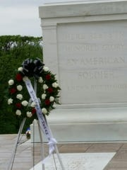 Seventh graders at Saint Michael Lutheran School in Fort Myers went on a class trip to Washington, D.C., recently. Students had the honor of placing a wreath at the Tomb of the Unknown Solider.