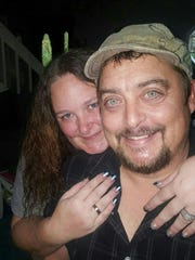 Michael Reed with wife Constance Reed. Constance and her two daughters perished in the Gatlinburg wildfires.