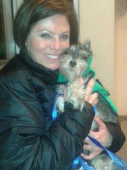 Christine Biss adopted Finn through Pet ResQ Inc.,