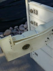 Several mailbox thefts have taken place in the last