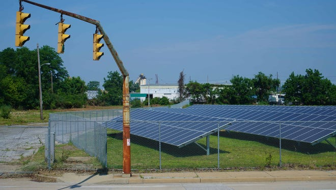 The new Wilmington Housing Authority Southbridge Solar Park on South Claymont St. will provide  power to housing authority residents.