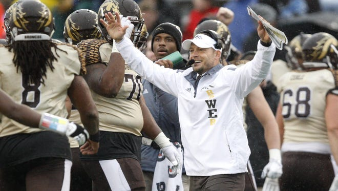 """After a 1-11 first season, it has become smooth sailing for the Broncos and coach P.J. Fleck. His """"row the boat"""" mantra has put WMU on the national college football map."""