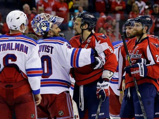 Rangers beat Capitals 2013 playoffs