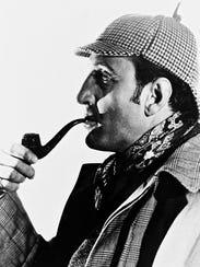 Basil Rathbone as the super-sleuth.