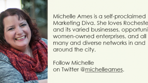 Michelle Ames, Marketing Diva