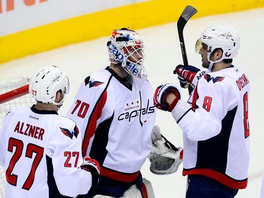 USP NHL: WASHINGTON CAPITALS AT COLORADO AVALANCHE S HKN USA CO