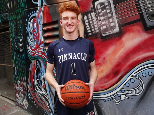 Pinnacle High School's Nico Mannion is one of the eight nominees for Arizona High School Boys Basketball Player of the Year 2017-18.