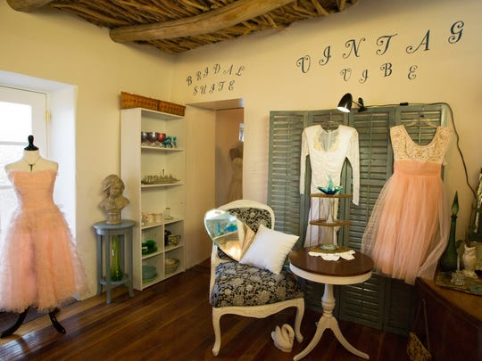 The new Vintage Vibe section at My Rich Sister's Closet & Boutique, Monday Aug. 8, 2016, is ready for the re-grand opening Thursday, Aug. 18, 2016.