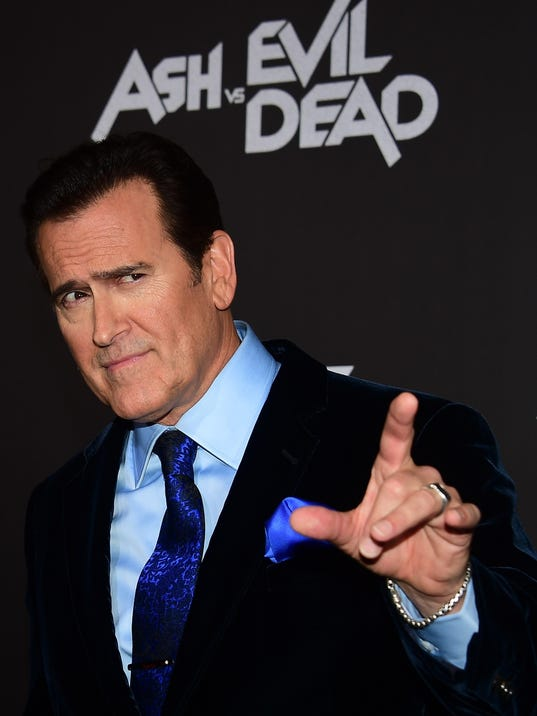 US-ENTERTAINMENT-PREMIERE-ASH VS EVIL DEAD