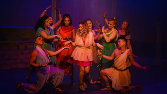 """Xanadu"" skates its way into Bainbridge Performing"