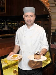 Oyster Bar pastry chef Januz Noka. One of his most