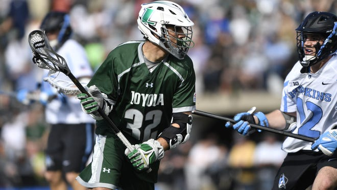 Loyola (Md.) attacker Zack Sirico is third on the team with 29 points entering the Patriot League semifinals.