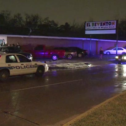 A security guard was shot outside of El Reventon nightclub