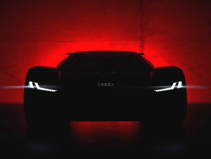 Audi plans to show its latest electric supercar concept