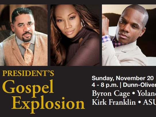 The President's Gospel Explosion features gospel artists
