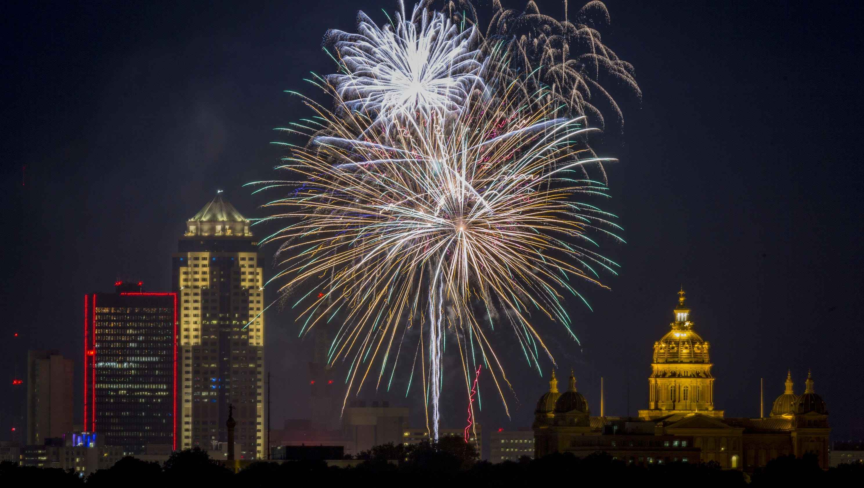 legal fireworks probably limited in des moines metro