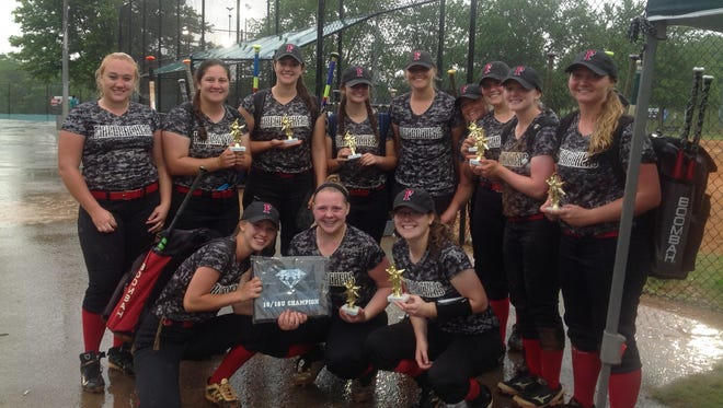 The N.C. Firecrackers softball team won the Forever Diamonds tournament last weekend in Tennessee with a perfect record.