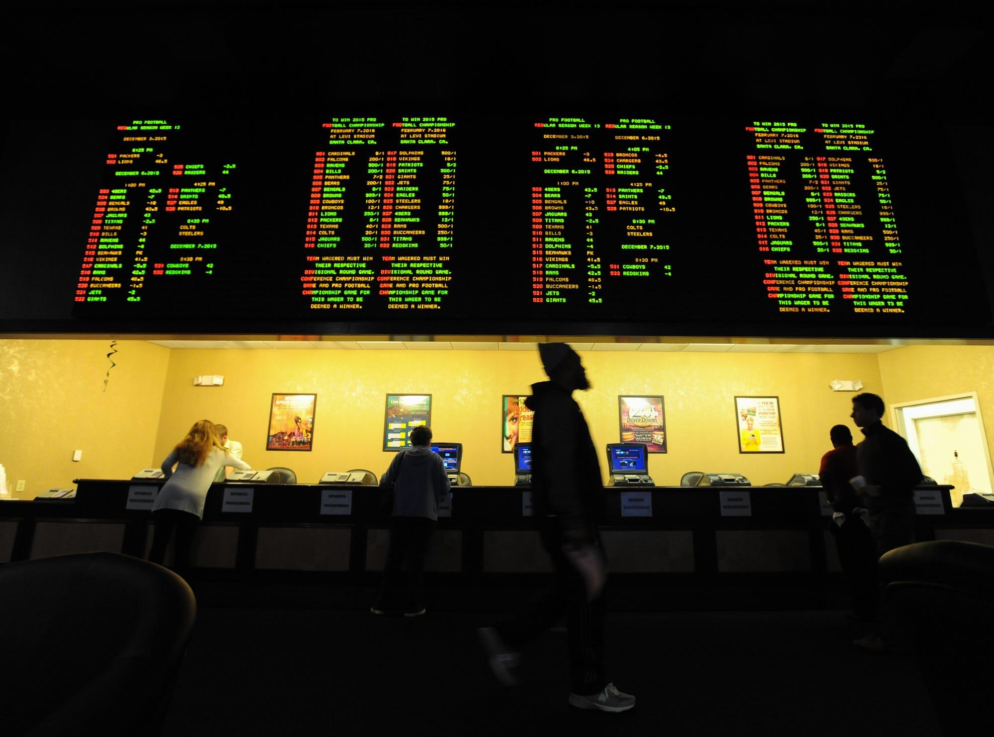 Delaware sports gambling rules cash creek indian casino