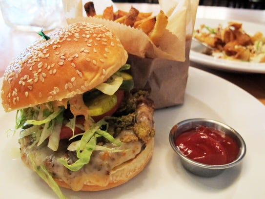 The El Diablo Burger lives up to its fiery name with