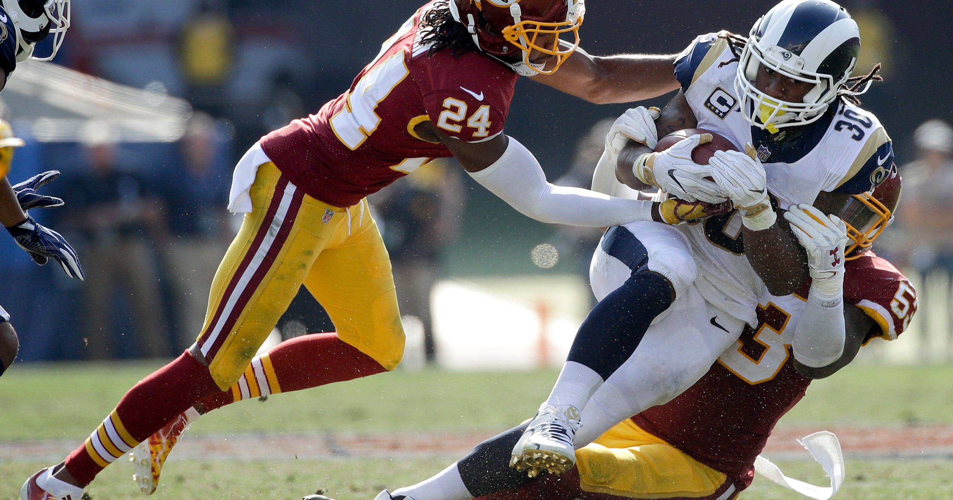 8923c1c6809 House of pain: Redskins ready to play through injuries